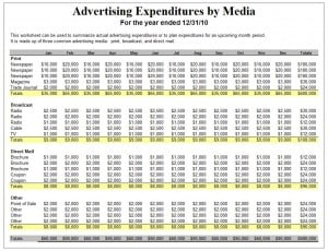 Advertising Schedule Template. 25 best ideas about marketing plan ...